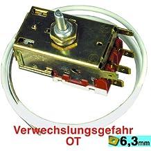 Termostato (kg) K59L2649 OT, conveniente para los dispositivos por: AEG, cocinas ALNO (Zanussi WH...)