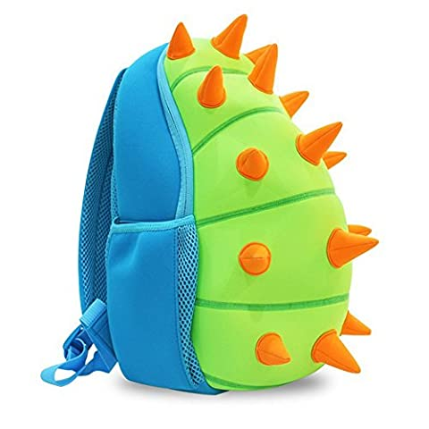 YISIBO Kids Backpacks Kindergarten Enviromental Kids Backpack 3D Cartoon Cute Animal Schoolbags Zoo Hiking travelling Camping Dinosaur Toddler Sidekick