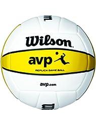 Wilson Volleyball, Outdoor, Professionelle Spieler, AVP Volleyball, Weiß/ Gelb