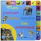 Mon premier livre sonore des animaux (1CD audio)