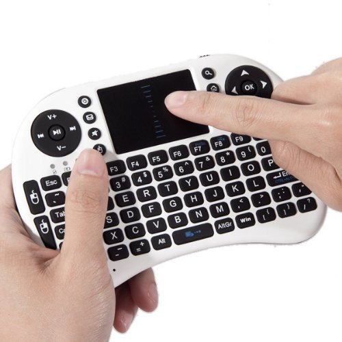 Captcha Intex Mobile Devices Compatible Certified Captchamini Wireless Bluetooth 2.4G Keyboard With Touch Pad Mouse For Pc, Android, Ios Devices, Tv, Mac  available at amazon for Rs.1323
