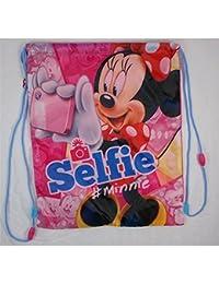Minnie Mouse Saco Mochila Escolar 41 Cm.