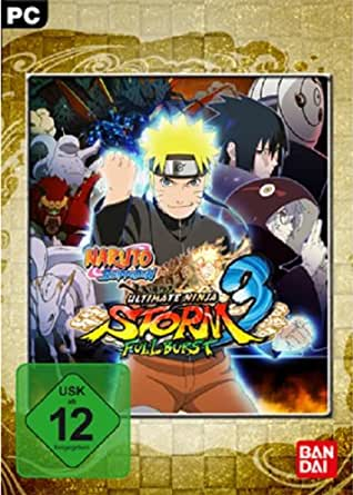 Naruto Shippuden - Ultimate Ninja: Storm 3 - Full Burst [PC Steam Code]