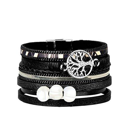 943df2f851e28 Bracelet cuir perle - Les meilleurs d'Aout 2019 - Zaveo