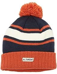 Altamont Dickson Beanie navy / orange / bleu Taille Uni
