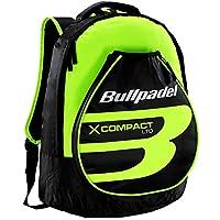 Mochila Bullpadel X-Compact Amarillo Flúor