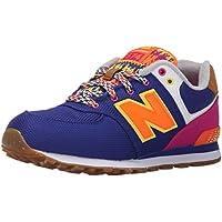 New Balance - KL574T5G - Color: Arancione-Rosa-Viola - Size: 38.0
