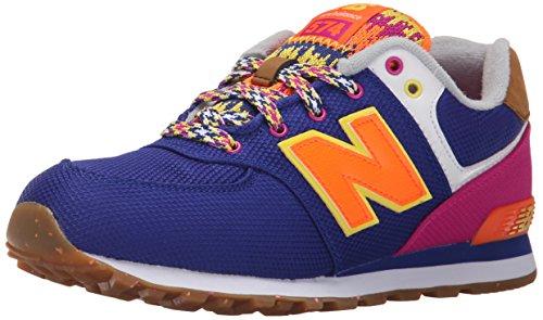 New Balance Kl574, Chaussures Mixte Enfant - ORANGE-Pink-violet