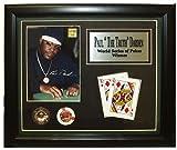 Markenzeichen Poker Paul Darden Limited Edition Sammlerstück Plaque (schwarz)