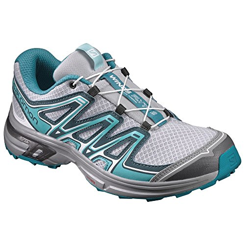Teal Schuhe Womens (Salomon Wings Flyte 2 Women Größe UK 6 pearl blue/deep teal/peacock blue)