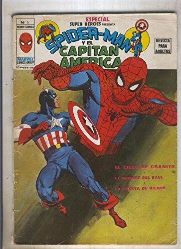 SPECIAL SUPER HEROES numero 05: SPIDERMAN (1contraportada)