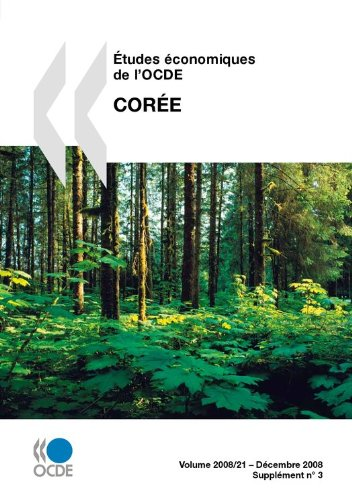 Études économiques de l'OCDE : Corée 2008 par Collectif