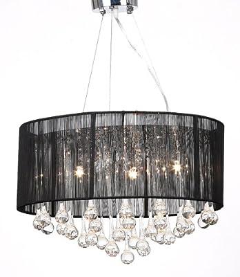 Kristall Kronleuchter Lüster Deckenleuchte Hängeleuchte Lampe Glas 3-flammig NEU von vidaXL bei Lampenhans.de