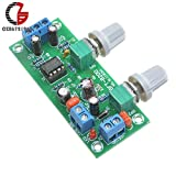 #4: diymore DC 12V 24V Low-Pass Filter NE5532 Bass Tone Subwoofer Pre-Amplifier Preamp Board Low Pass Filter LPF
