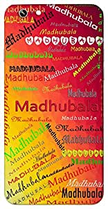 Madhubala (sweet girl) Name & Sign Printed All over customize & Personalized!! Protective back cover for your Smart Phone : Micromax Canvas Sliver 5 Q450
