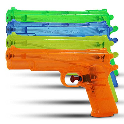 (5404) 12 Stück Wasserpistole 20 cm, Wasserblaster, Watergun