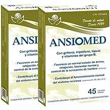 Bioserum Pack Ansiomed 2x45 (90) CÁPS - Combate la ansiedad de forma natural .