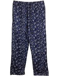 Damenhose für den Sommer aus luftig leichtem Baumwoll-Mix in aktuellem Blumendruck mit Eingrifftaschen, locker geschnitten