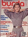 Burda Moden 1 Januar 1987 Mehr als 100 Schnitte