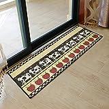 yazi Küchenläufer Maschinen Waschbar Mezzanine Teppich Läufer Teppich Fußmatte Küche Home Décor Milch Kuh 45 x 118 cm