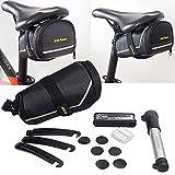 FiveFire Fahrrad Werkzeug Fahrrad Multitool 7 in 1 Reparaturset Mit Fahrrad Satteltasche Geeignet für alle Arten der Fahrrädern
