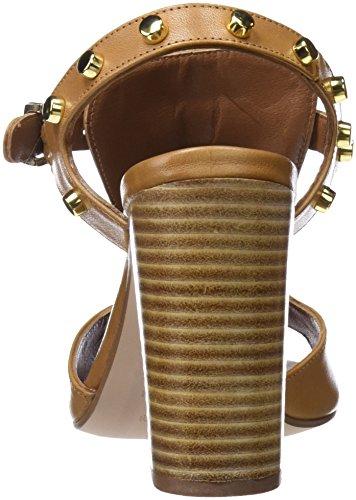 Pedro Miralles 18402, Sandales À Bout Ouvert Pour Femme Marron (camel)