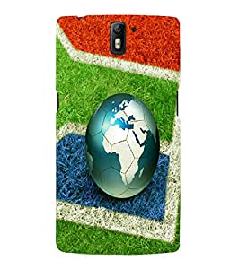 printtech Football World Brazil Back Case Cover for One Plus One::One Plus1