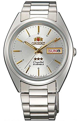 Orient Damen Analog Automatik Uhr mit Edelstahl Armband FAB00006W9