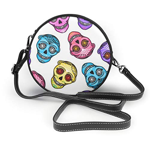 MZZhuBao Handbags For Women,Set Calavera Sign Muertos.PU Leather Shoulder Bags,Tote Satchel Messenger Bags