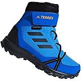 adidas Terrex Snow Cloudfoam CP Climawarm, Unisex-Kinder Trekking- & Wanderstiefel, Blau (Brblue/Cblack/Hireor Brblue/Cblack/Hireor), 38 EU (5 UK)