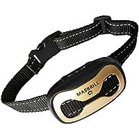 [Gesponsert]MASBRILL Anti-Bell-Halsbänder - Hunde Trainingshalsband für Kleine und Mittelgroße Hunde mit Vibration. Kontrolle von übermäßigem Bellen mit Diesem Einfachen Antibell Halsband. Sicher und Human Ohne Schock