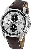 Jacques Lemans Herren-Armbanduhr XL Liverpool Automatic Chronograph Automatik Leder 1-1750B