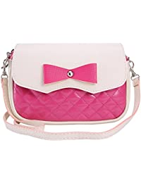 TOOGOO(R) Fashion Women Leather Handbags Bowknot Fashion CrossBody Shoulder Bags Messenger Bags Women Bags£¨Rose...
