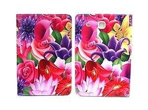 Sharp Icon Fancy Flip Cover for Samsung Galaxy Tab E 9.6 inch