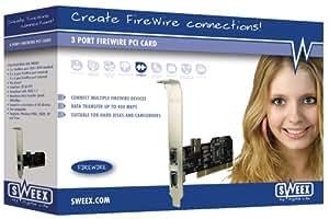 Sweex FW003 3 Port FireWire PCI Card