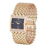 Skylofts 18K Gold Plated Party Wear Bracelet Girls Watch - Watches for Women Watch - for Women