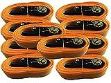 Lote de 10 correas de amarre con trinquete, de iapxy, 5 m, en paquete estándar...