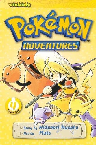 Pokemon Adventures 4 (Pokemon Adventures (Viz Media)) by Hidenori Kusaka (2013-09-12)