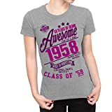 Buzz Shirts 60 Years Of Being Awesome Ladies - Best Reviews Guide