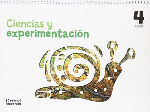 Ciencias y experimentación 4 años. Cuaderno (Cuadernos Ciencias Y Experimentación) - 9788467381627