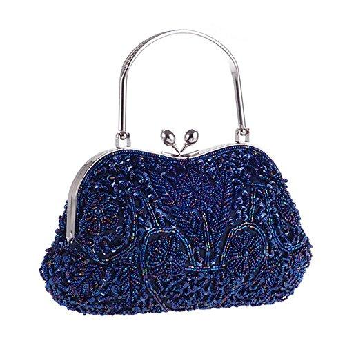 Eysee, Borsa tote donna oro Purple 24cm*14cm*3cm Blue
