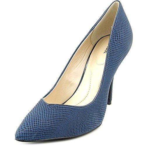 Style & Co Pyxiee Damen Spitz Kunstleder St枚ckelschuhe Blue Steel