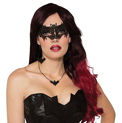 Forum Novelties X79054 Fledermaus-Maske, Damen, Einheitsgröße