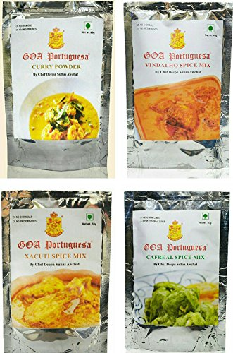 GOA PORTUGUESA SPICE MIX (PACK OF 4)