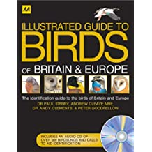 AA Illustrated Birds of Britain and Europe (Illustrated Reference)