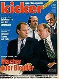 Kicker Sportmagazin Nr. 02/1991 07.01.1991 Manager im Kicker-Test Macher oder Blender