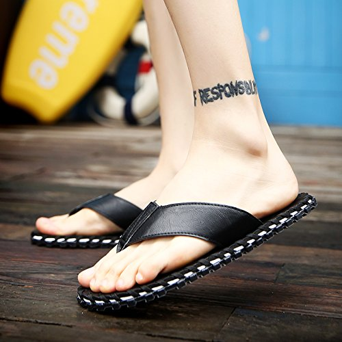 Di Uomini Degli Vibrazione Xing Di Spiaggia Da Caduta Per Nero Scarpe Sandali Di Ciabatte Estate Antiscivolo Mens E Inghilterra Lin vg5xdCwq