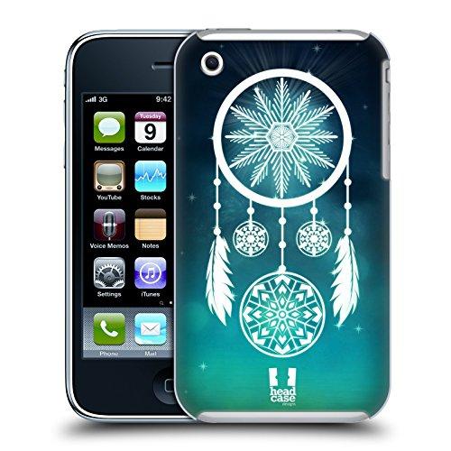 Head Case Designs Attrappe -Rêve Flocons De Neige Étui Coque D'Arrière Rigide Pour Apple iPhone 3G / 3GS