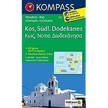 Kos - Südlicher Dodekanes: Wanderkarte mit Radrouten. GPS-genau. 1:50000 (KOMPASS-Wanderkarten, Band 252)