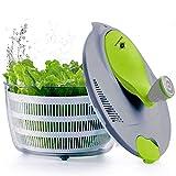 Kilokelvin Spinner à Salade en Plastique 4 litres Séchoir à Légumes Rapide-sans...